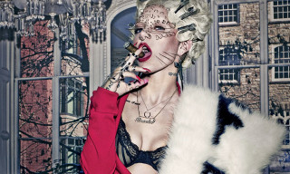 Brooke Candy by Steven Klein for 'V89' Summer 2014