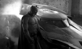 Check Out the First Look at the New Batsuit & Batmobile