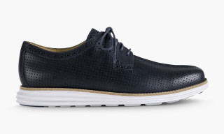 Cole Haan LunarGrand Perforated Plain Toe