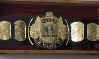 Did You Ever Wonder Who Makes the WWE Championship Belts?