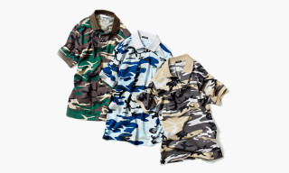 Lacoste x BEAUTY & YOUTH Camouflage Polo Collection