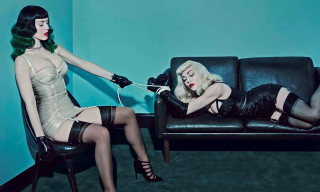 Madonna and Katy Perry Cover 'V89' Summer 2014