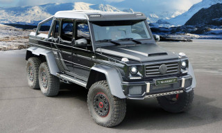 Mercedes-Benz G63 AMG 6×6 Upgraded by Mansory to 840 HP