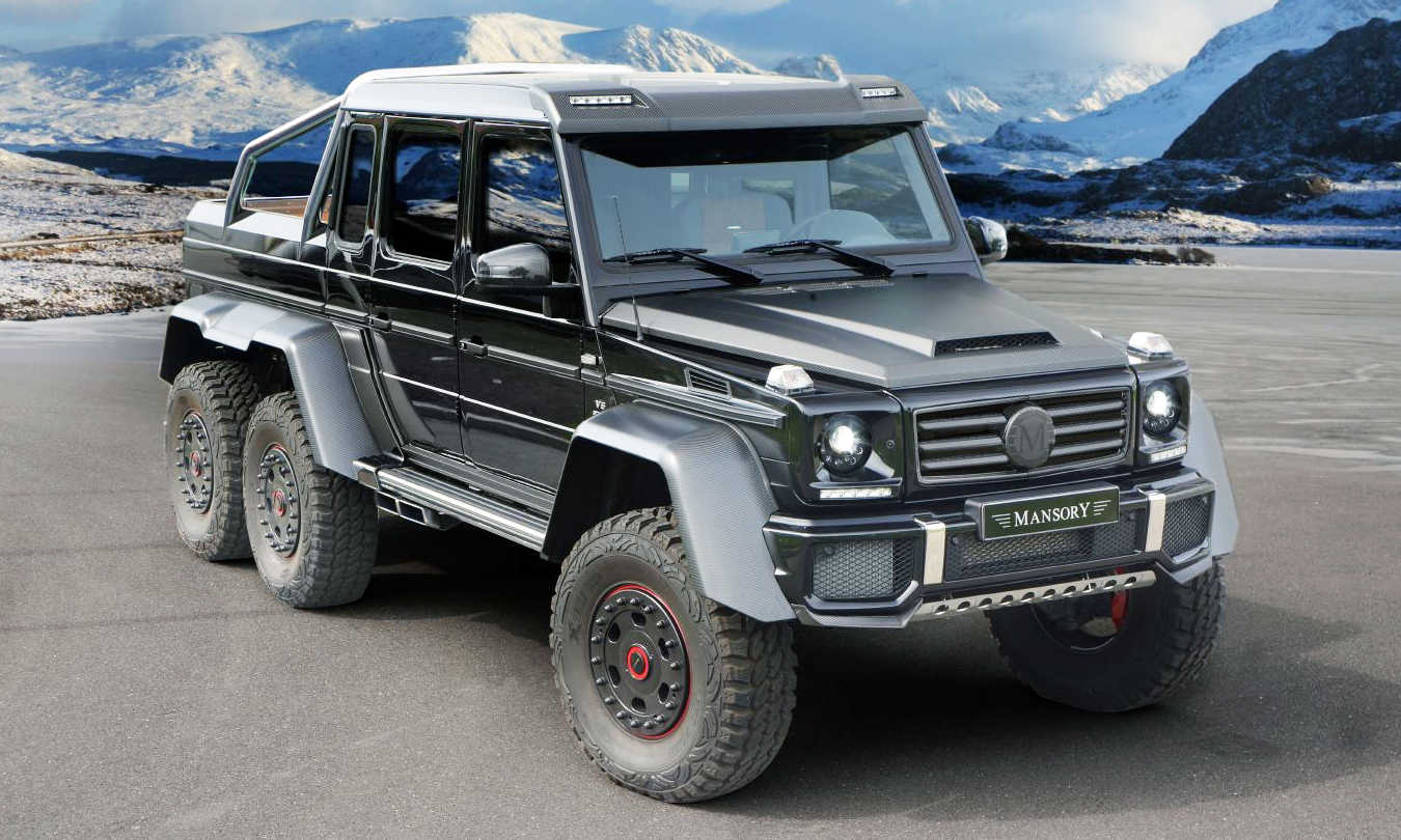 G Wagon 6X6 >> Mercedes-Benz G63 AMG 6x6 Upgraded by Mansory to 840 HP ...