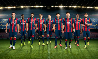 Nike and FC Barcelona Unveil New Home Kit for 2014/15 Season