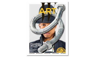 "Pharrell Covers 'W' Magazine's Annual ""Art"" Issue, Announces the Title of His adidas Collaboration"