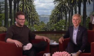 Seth Rogen Talks about Performing at Kanye West's Wedding on Ellen