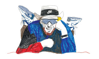 Decue Illustrates Sneaker Legends for 'Obscura' Magazine