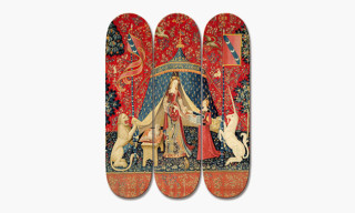 'The Lady and the Unicorn' Skate Decks by boom-art