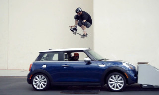 Watch Tony Hawk Jump Over a Moving MINI Cooper