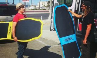 UNIV x Hosoi Hammerhead Surfboard