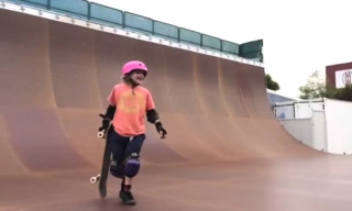 Watch 9-Year-Old Sabre Norris Land Her First 540