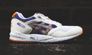 "ASICS Gel Saga ""Illusion"" White/Light Grey"