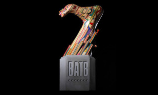 """Battle At The Berrics 7"" Trophy by Haroshi"