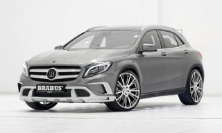 Brabus Unveils 400 HP Mercedes GLA