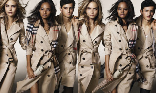 Burberry Fall/Winter 2014 Campaign featuring Cara Delevingne