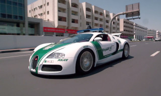Check Out Dubai's $6.5 Million USD Police Car Fleet featuring a Bugatti Veyron