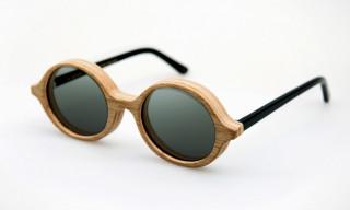 Han Kjøbenhavn x Fritz Hansen Wooden Sunglasses