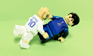 Historic World Cup Moments Recreated in LEGO