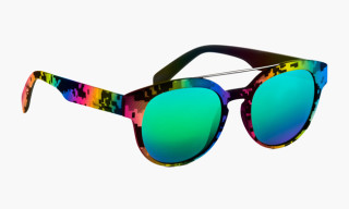 "Italia Independent ""8-Bit"" Sunglasses"
