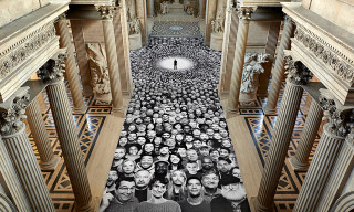 "JR Installs ""Au Panthéon"" in Paris' Panthéon"