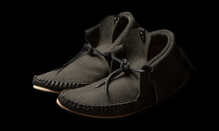 Ken Diamond x wings+horns Leather Moccasins
