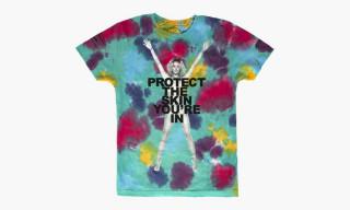 "Marc Jacobs ""Skin"" Chloe Norgaard Tie-Dye T-Shirt"