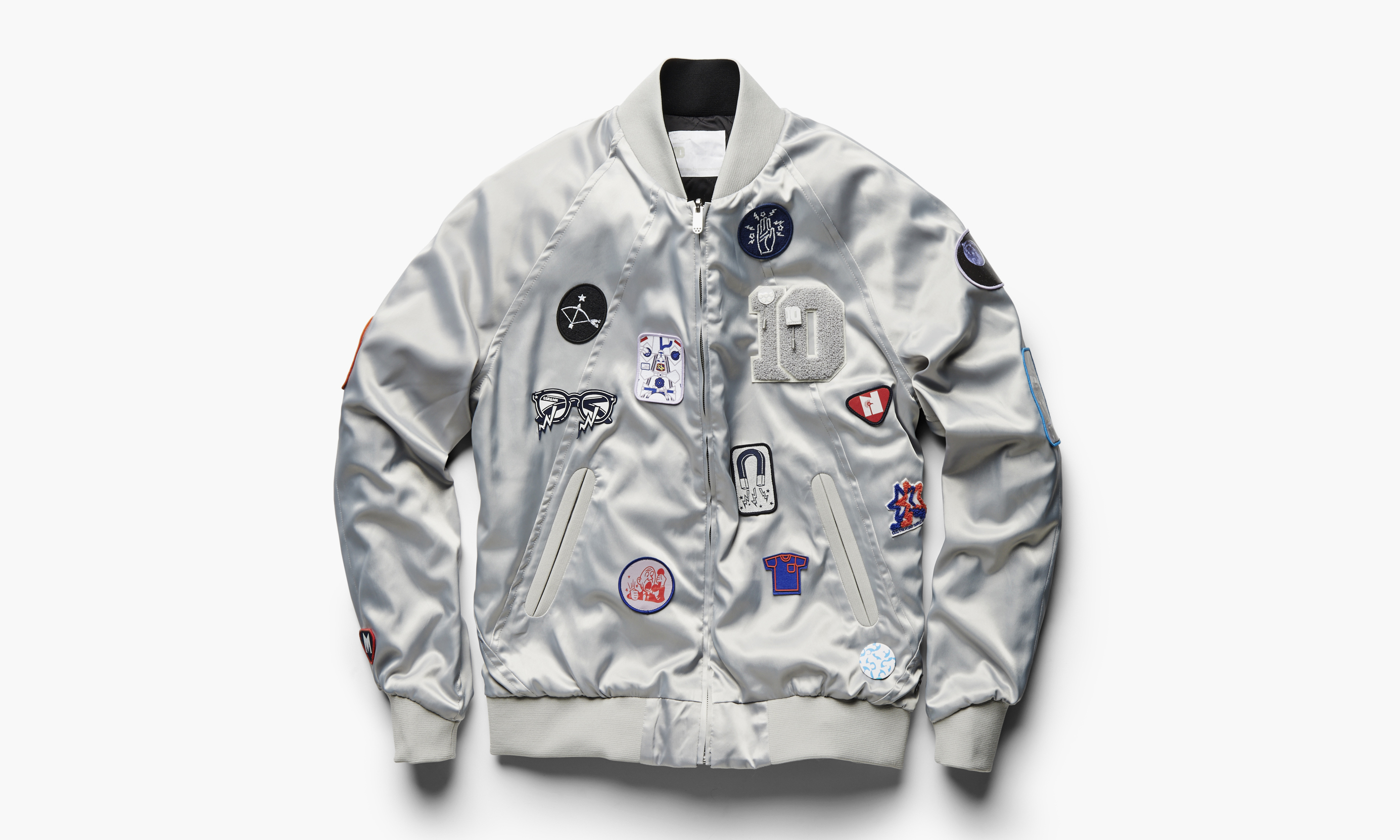 marc newson x g star raw 10th anniversary reversible tour jacket highsnobiety. Black Bedroom Furniture Sets. Home Design Ideas