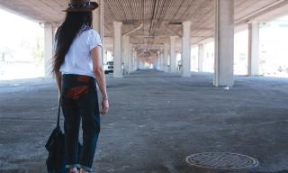 Naked & Famous Kimono Trim Jeans