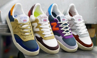 New Balance Partners with Firmament, hanon, 24 Kilates and Sneakersnstuff to Reintroduce the CT300