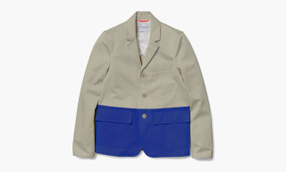 Over All Master Cloth x colette Fall/Winter 2014 Color-Blocked Blazer