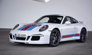 Porsche Celebrates Le Mans with Martini Edition 911
