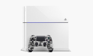 Sony Unveils Glacier White PlayStation 4 and Urban Camo DualShock 4 Controller
