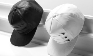Stampd Zipper Leather Caps