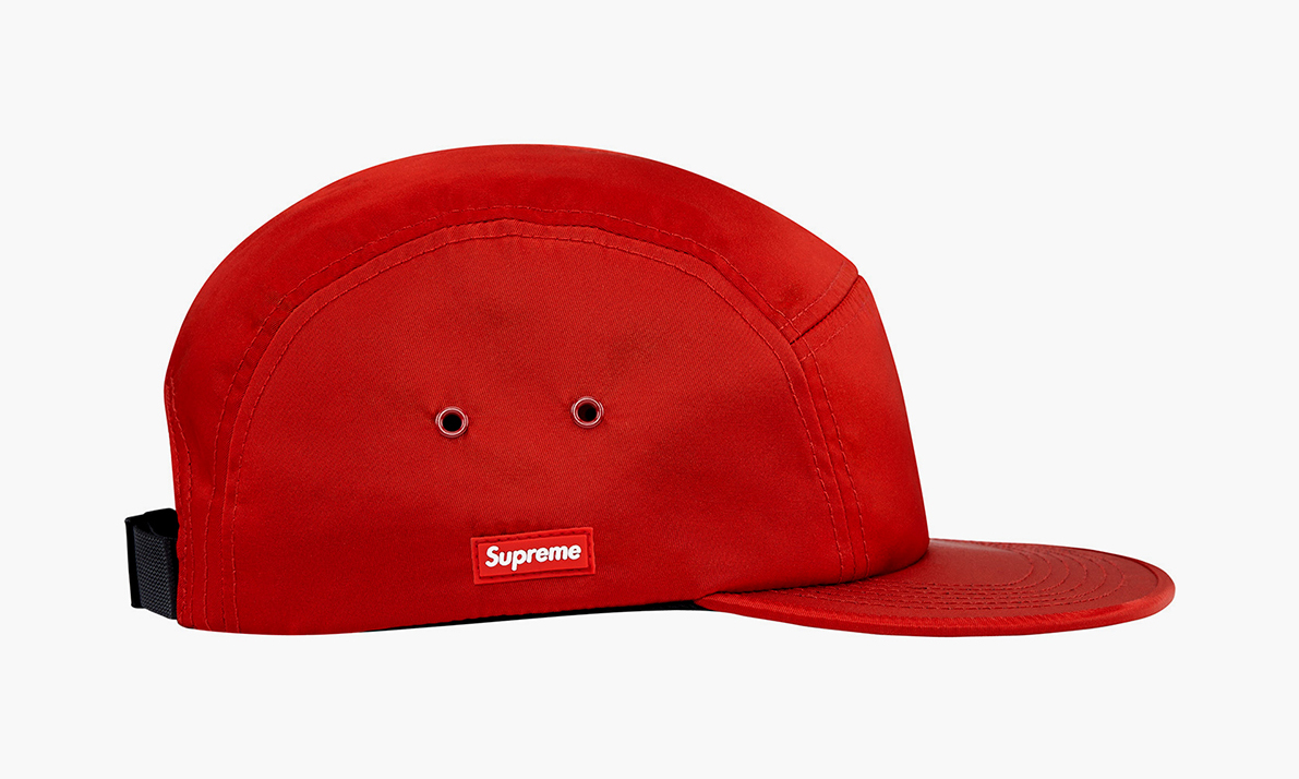 Supreme Summer 2014 Side Rubber Patch Camp Cap Highsnobiety