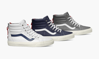 "Vans California Fall 2014 Sk8-Hi Zip CA ""Varsity Stripe"" Pack"