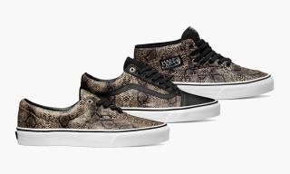 "Vans Classics Fall 2014 ""Snake"" Pack"