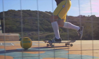 Watch Bob Burnquist Combine Skateboarding and Football at Dreamland