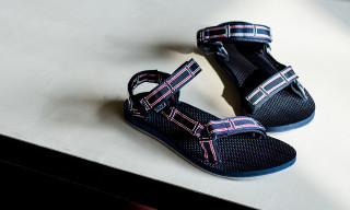 White Mountaineering x Teva Nylon Tape Sandals