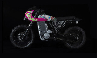 SUPER x Keiichi Tanaami x Basic Garage Motorcycle