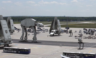 "Watch ""Leaked Footage"" from the Set of 'Star Wars Episode VII'"