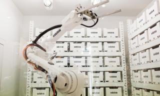 Watch Swizz Beatz & the Solebox Robot at the New Berlin Store Opening