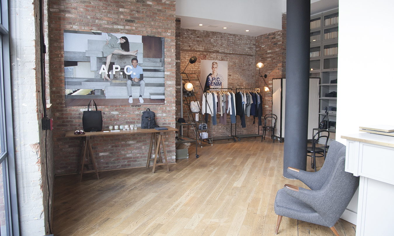 Exterior: A.P.C. Opens Pop-Up Shop At Wythe Hotel In Brooklyn