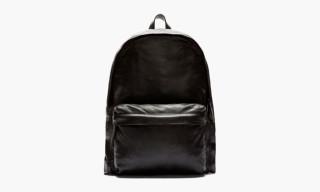 Ann Demeulemeester Black Leather Backpack