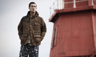 Barbour x White Mountaineering Spring/Summer 2015 Lookbook