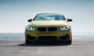 "BMW Turns an Aircraft Carrier into the ""Ultimate Racetrack"" to Showcase the 2015 M4"