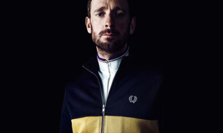 Bradley Wiggins for Fred Perry Fall/Winter 2014 Collection