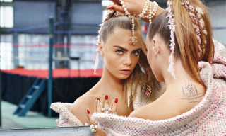 Chanel Fall/Winter 2014 Campaign featuring Cara Delevingne and Leona Binx