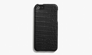Coach iPhone 5 Case in Genuine Crocodile