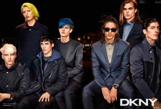 DKNY Fall/Winter 2014 Campaign featuring Rita Ora